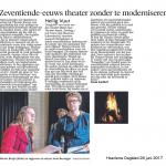 Interview met Marius Bruijn in Haarlems Dagblad