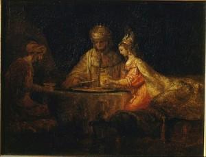 Rembrandt-Esther